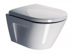 GSI - NORM WC závěsné, splachování SWIRLFLUSH, 50x36 cm, ExtraGlaze (861611)