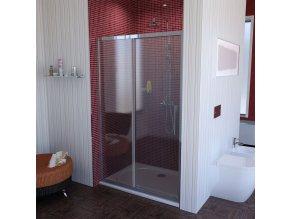 SAPHO LUCIS LINE sprchové dveře 1300mm, čiré sklo