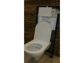 Laufen podomítkový WC komplet CW1 včetně WC mísy Laufen PRO, set 5v1