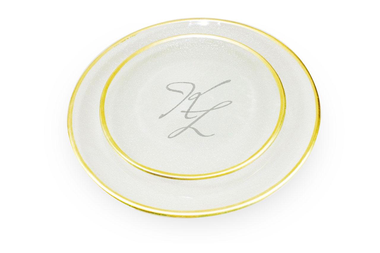 Svatební talíře
