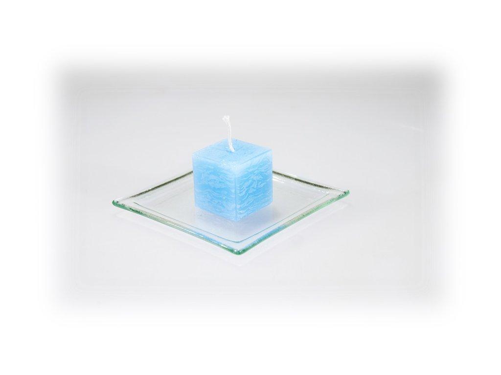 3,5x3,5 svíčka modrá