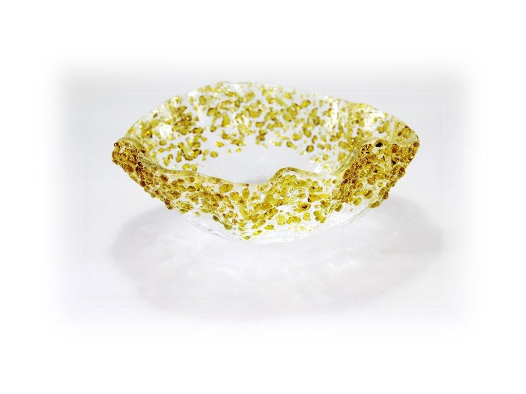 Hluboká miska SPRINKLES amber 20cm