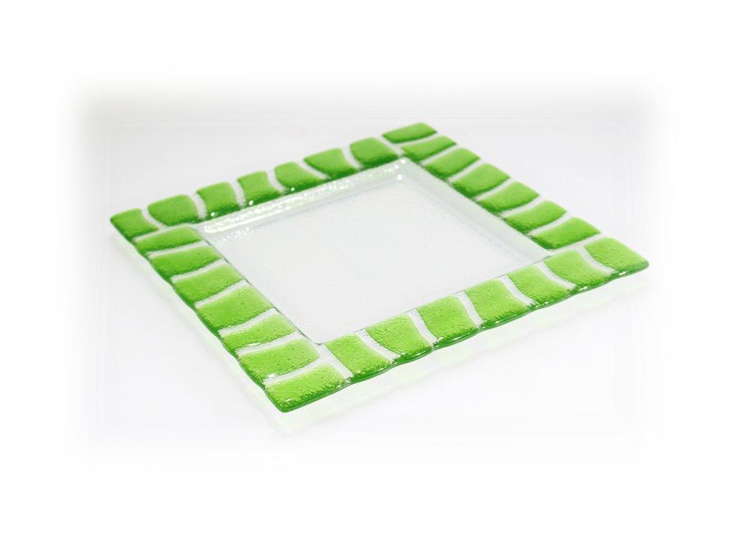 Tác SAFARI 25x25cm zelený