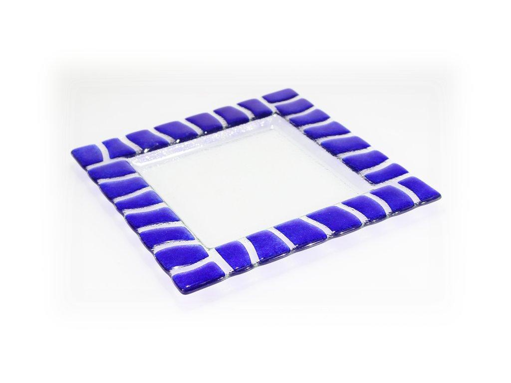 Tác SAFARI 25x25cm modrý