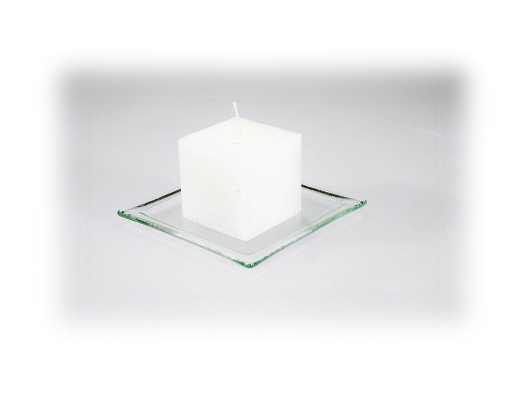 5x5cm svíčka bílá