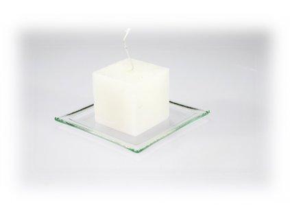 5x5cm svíčka béžová