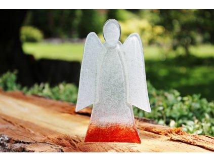 skleněný anděl