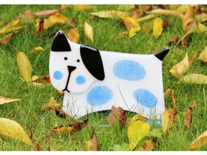 skleněný pes
