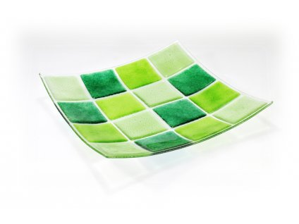 Mísa KARO 30x30cm zeleno zelená