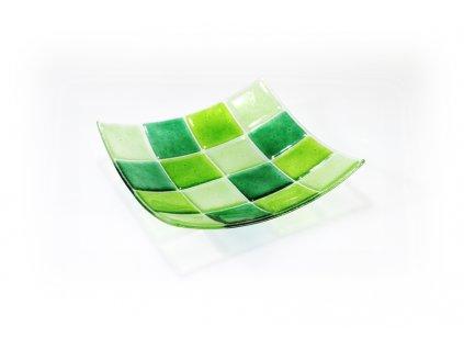 miska KARO 20x20cm zelená