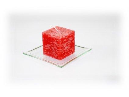 5x5cm svíčka červená
