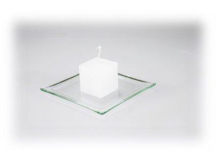 3,5x3,5 svíčka bílá