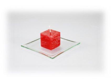 3,5x3,5 svíčka červená