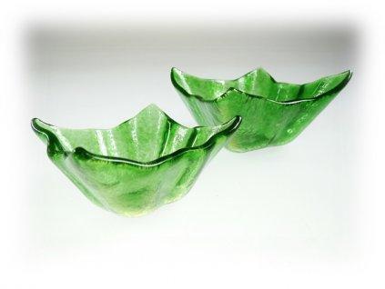 Skleněné mističky WINKY - zelené