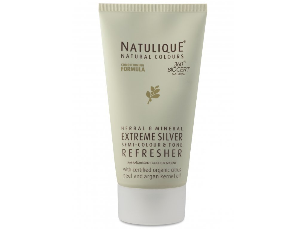 950 semipermanentni barva na vlasy natulique extreme silver refresher