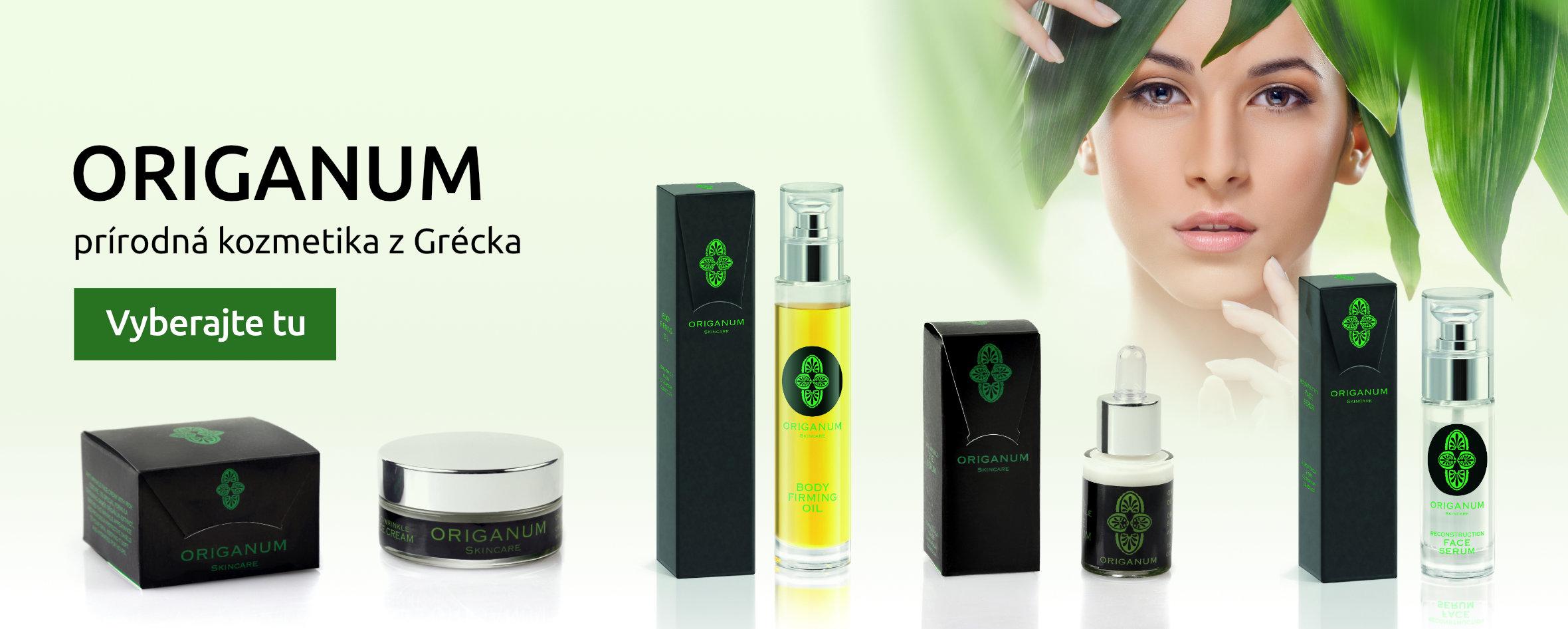 Origanum prírodná kozmetika z Grécka