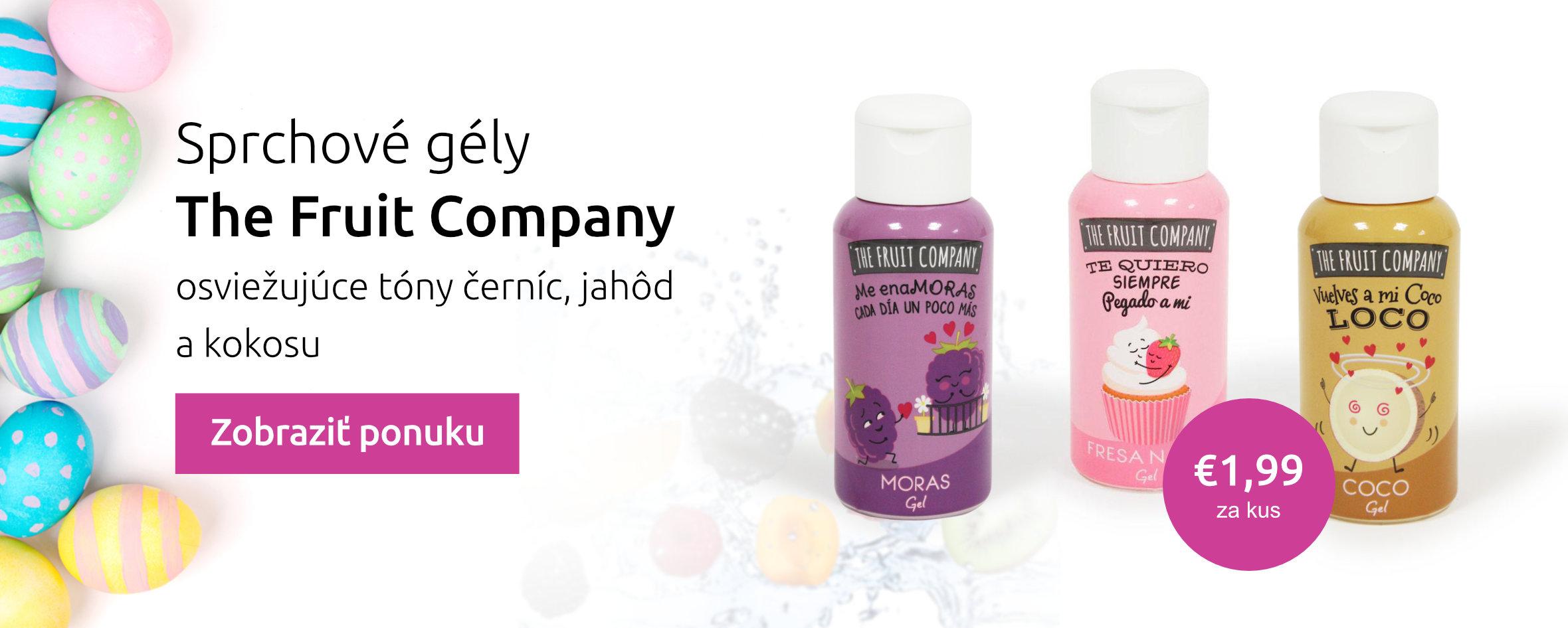 Sprchové gely The Fruit Company