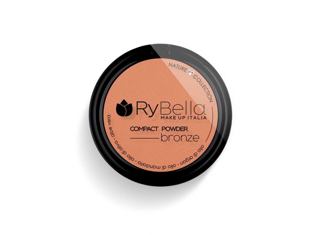 RyBella Compact Powder Bronze (01 - SAHARA)  Bronzer