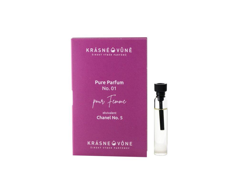 PURE No. 01 - Parfémovaná voda pre ženy