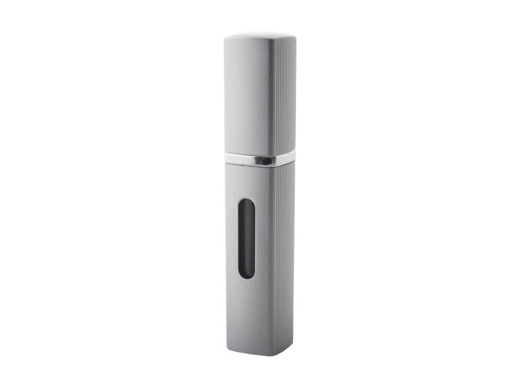Rozprašovač parfému Strieborný 8 ml