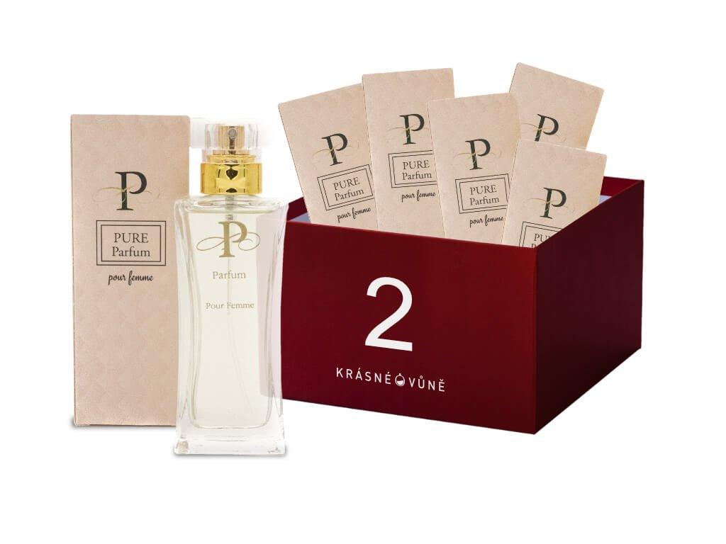 Výhodný 6-pack balíček parfémov PURE 2  6 parfémov PURE 50 ml