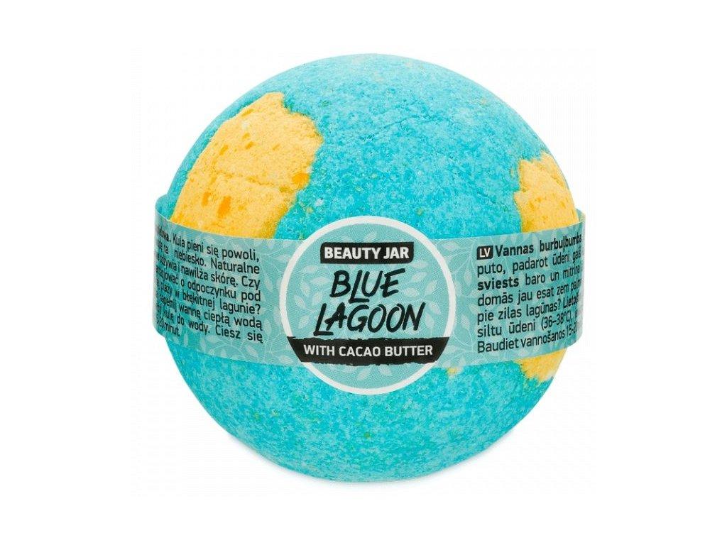 Beauty Jar - BLUE LAGOON  Guľa do kúpeľa 150 g