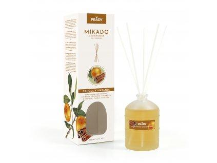 MIKADO - Pomaranč & Škorica  Difuzér 100 ml
