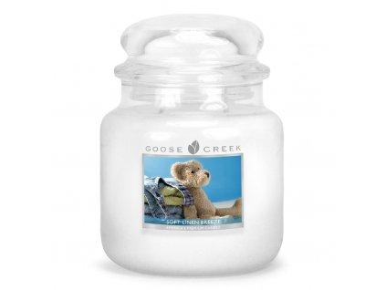 Goose Creek - Hebký vánok  Aromatická sviečka v skle 450 g