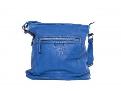 3164 modra kozena kabelka