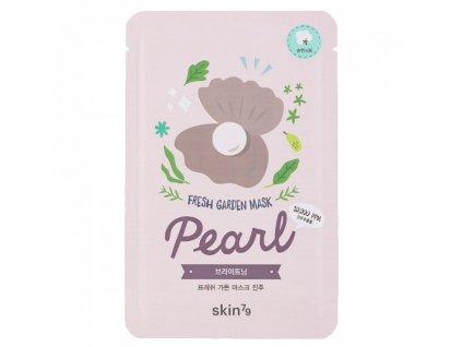 Fresh Garden Mask - Pearl  Plátenná pleťová maska