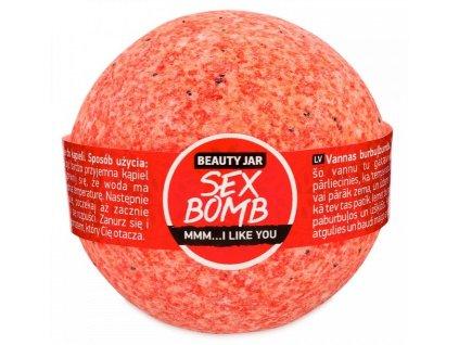 Beauty Jar - SEX BOMB  Guľa do kúpeľa  150 g