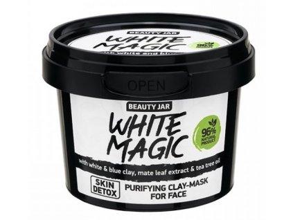 Beauty Jar - WHITE MAGIC  Pleťová maska 140 g