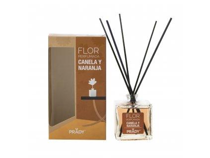 FLOR -Skorica a pomaranč  Difuzér 90 ml