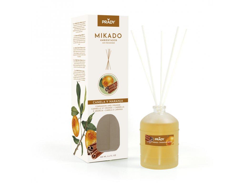 MIKADO - Pomeranč & Skořice