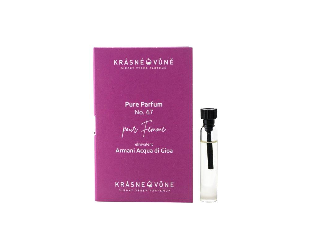PURE No. 67  Parfémovaná voda pro ženy