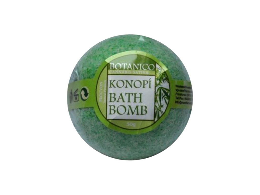 BOTANICO koupelova koule konopi012 y