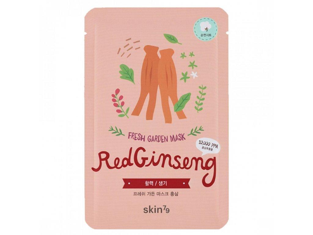 skin79 fresh garden red ginseng mask 23g