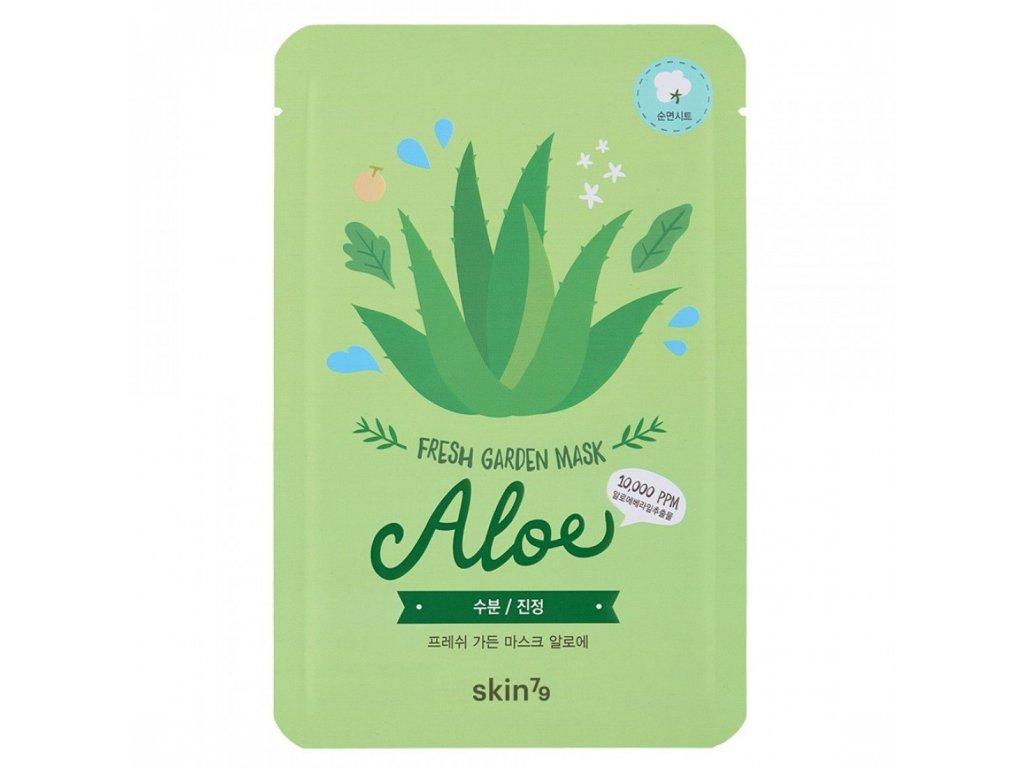 skin79 fresh garden aloe mask 23g