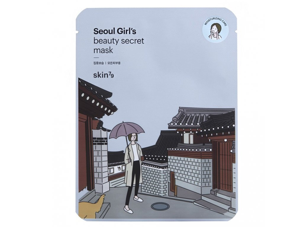skin79 seoul girls moisturizing mask 20g