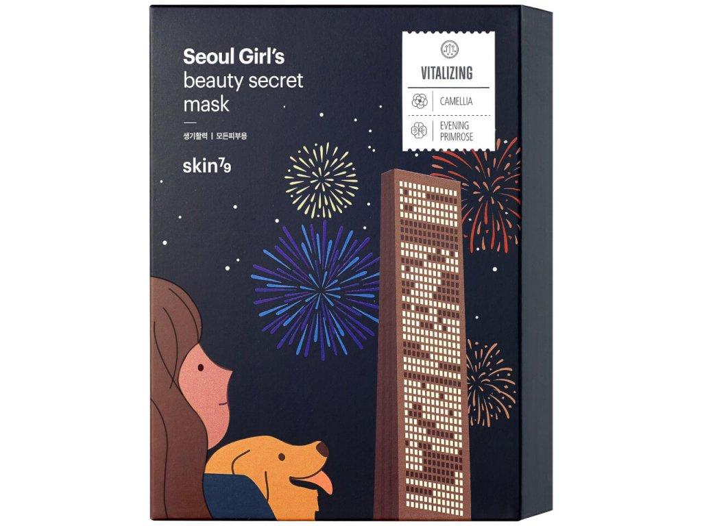 Seoul Girl's Beauty Secret - Vitality  Plátýnková pleťová maska