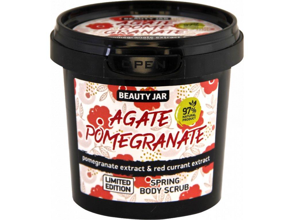 Agate pomegranate