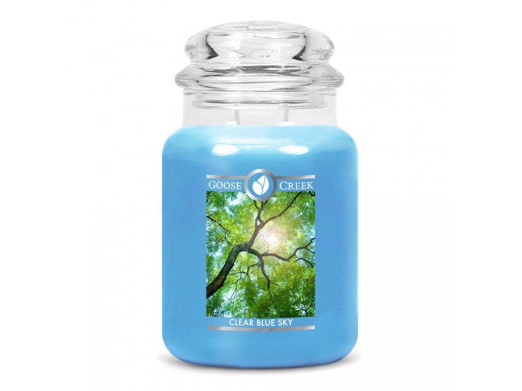 Clear Blue Sky Large Jar Candle 1024x1024