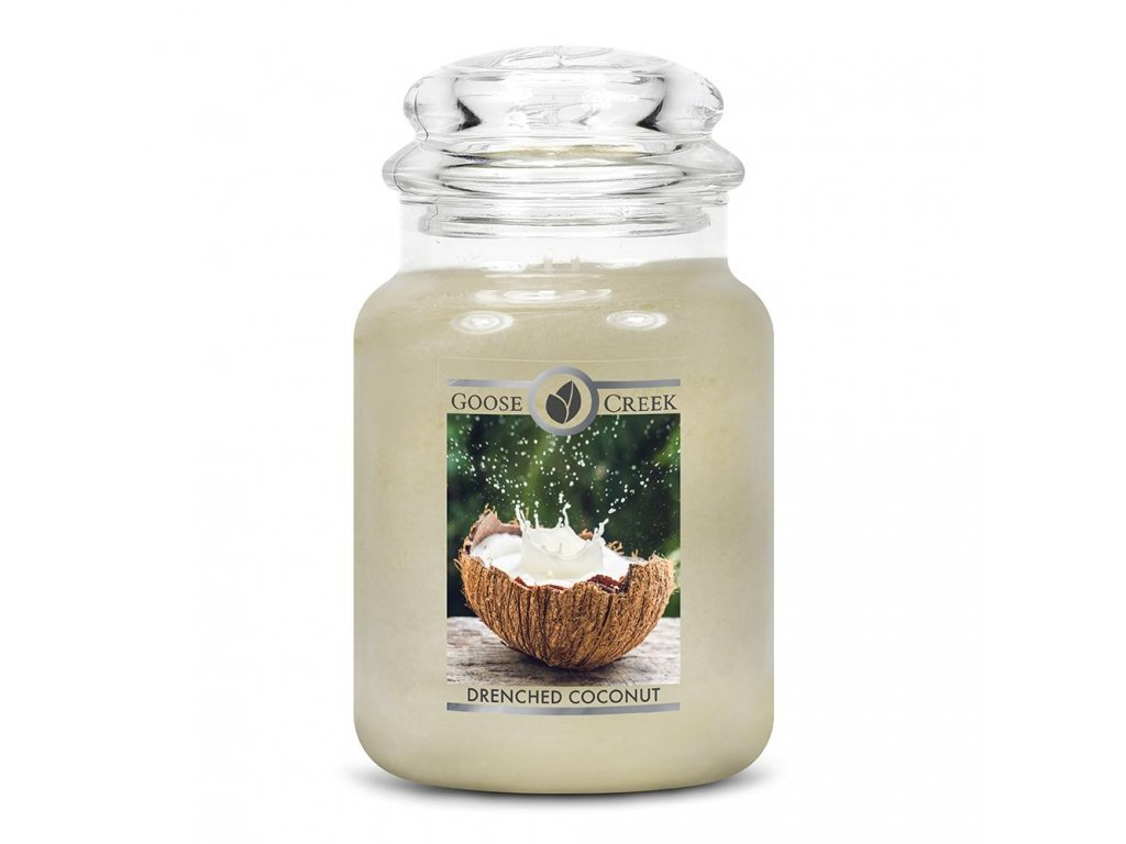Drenched Coconut Large Jar Candle 1024x1024
