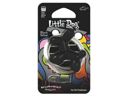 LITTLE DOG BLACK VELVET