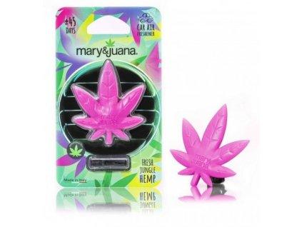 maryjuana osvěžovač ruzovy