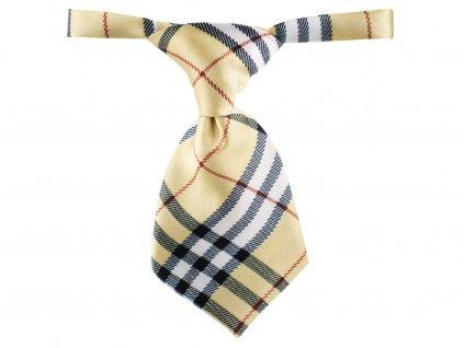 kravata bezova gema pro pejska