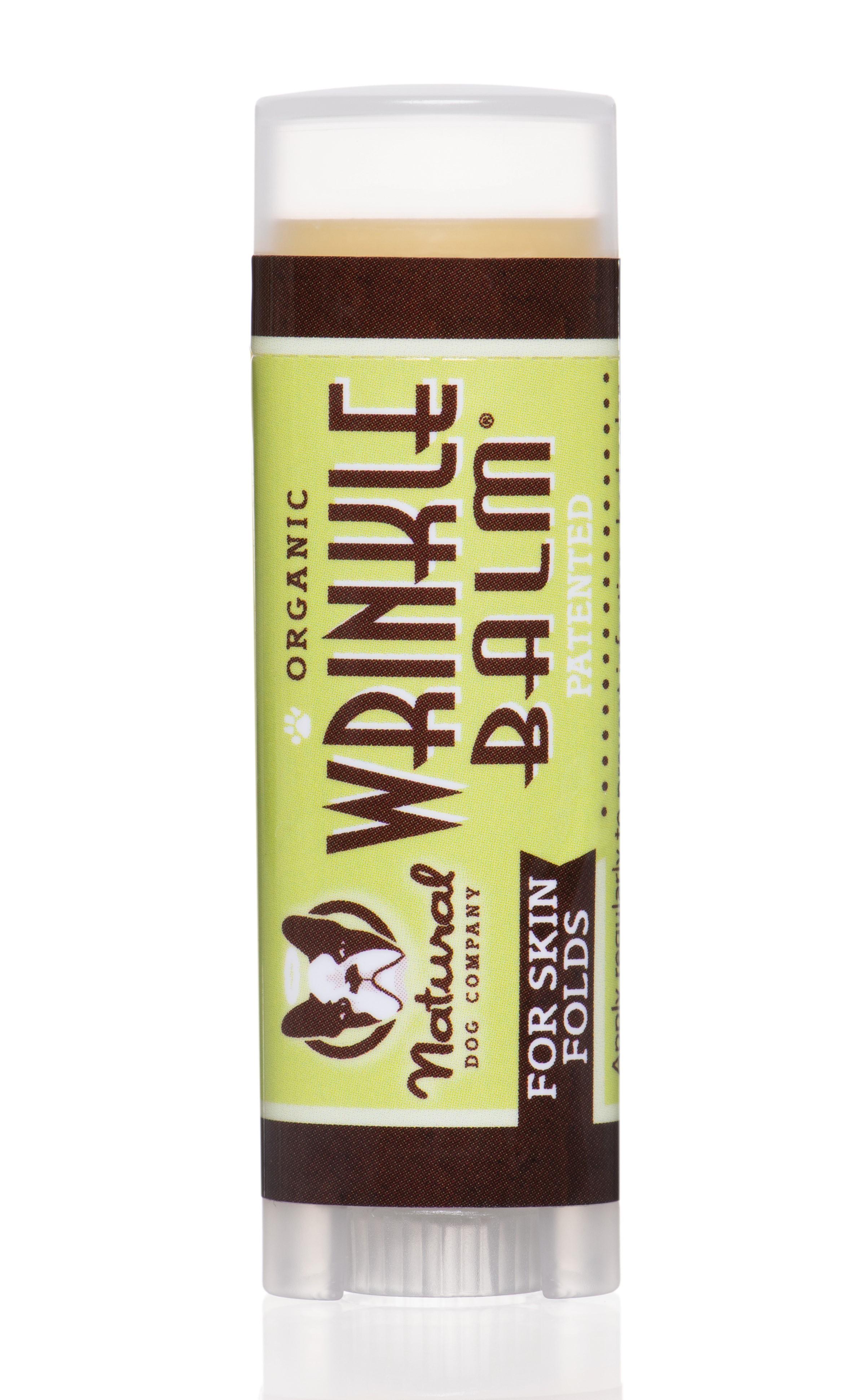Natural Dog Company Wrinkle Balm - Balzám na vrásky cestovní balení Balzám na vrásky cestovní balení 4,5ml/4,25g.