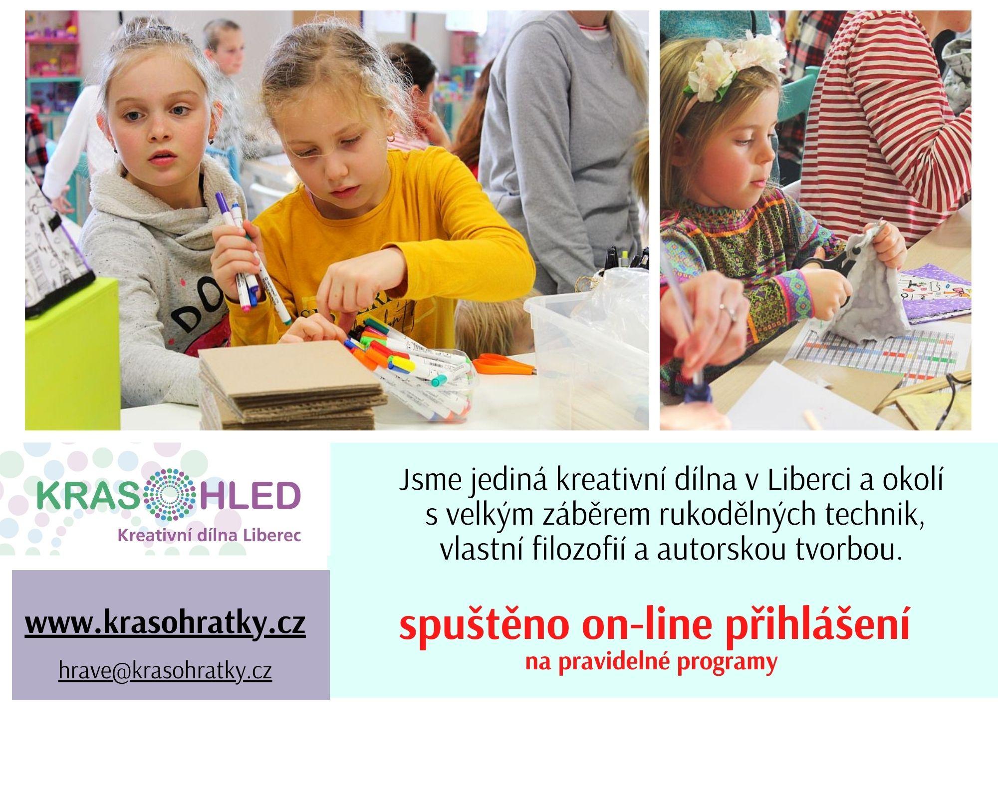 Krasohled Liberec-pravidelný program