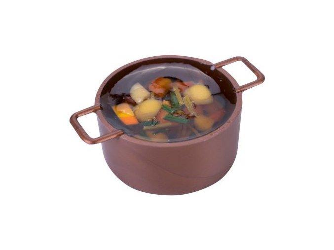 Hrnec s polévkou