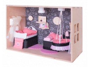 Domeček pro panenky_pokojíček pro miminko